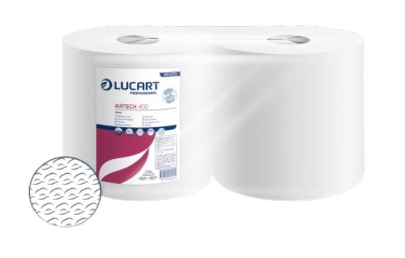 AIRTECH LUCART 400, atkārtojami lietojamas papīra salvetes