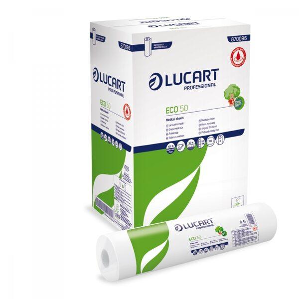 Papīra pārklājs kušetei, Lucart- ECO 50