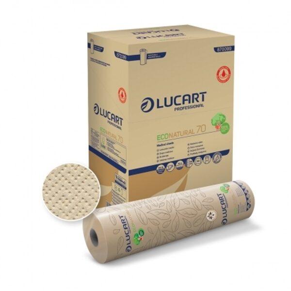 Papīra pārklājs kušetei, Lucart- ECONATURAL 70 JOINT