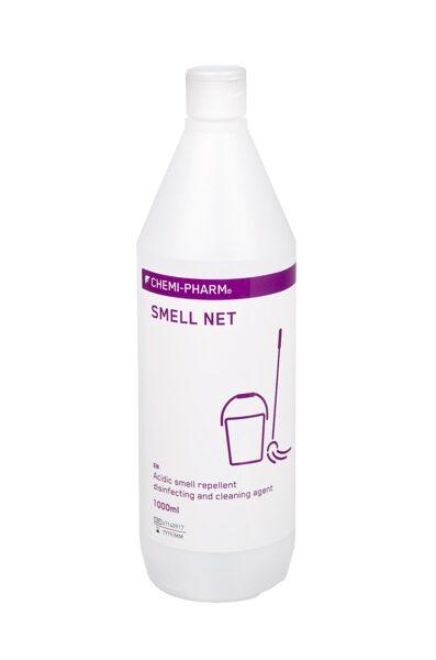 Smakas iznīcinošs skābi saturošs dezinfekcijas līdzeklis virsmām SMELL NET MD 1L
