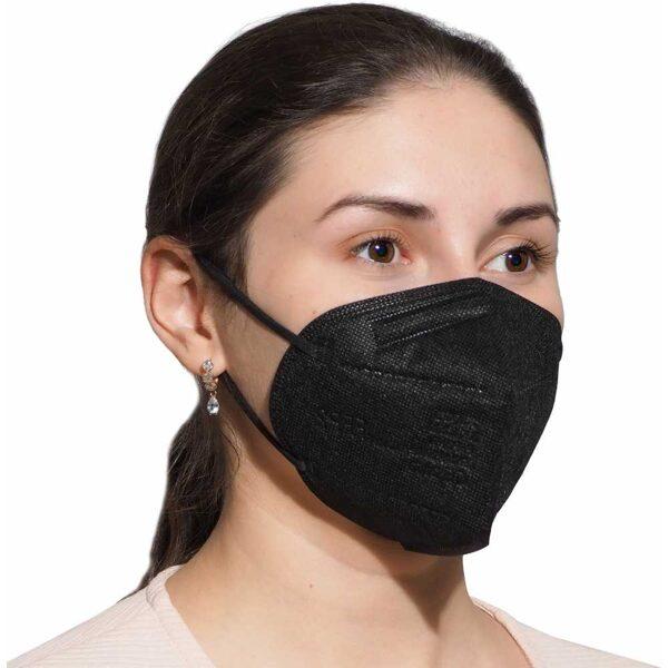 FFP2 respirators Melns, individuāli iepakots, Xique