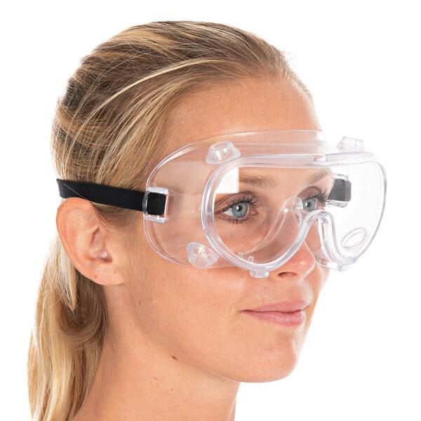 Aizsargbrilles ar integrētiem vārstiem