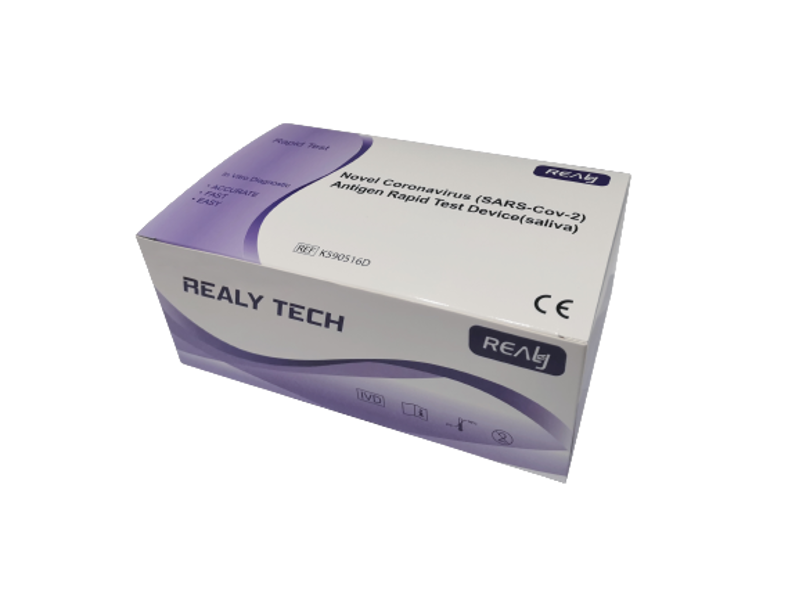 RealyTech – Antigēna COVID-19 Ātrais Tests (siekalu)