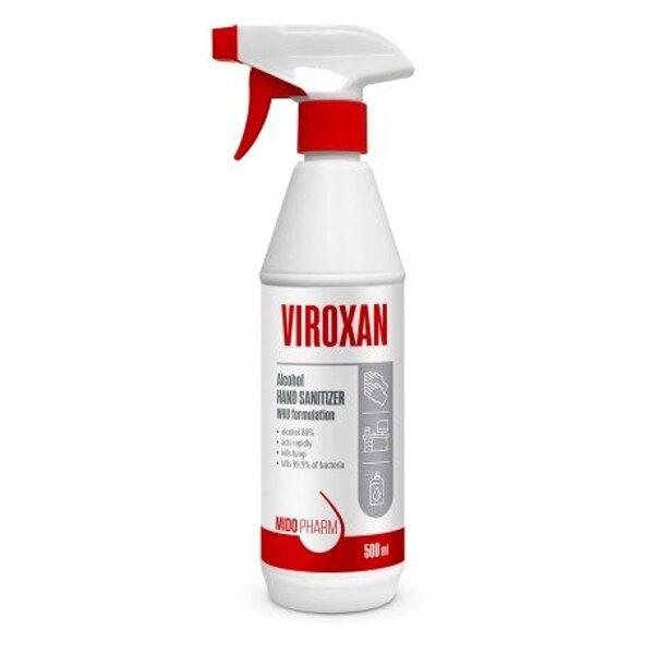 Virsmu dezinfekcijas līdzeklis VIROXAN, 500 ml